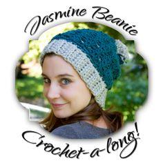 The Jasmine Beanie Crochet-a-long!