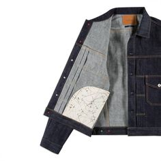 Men's regular-fit denim jacket, crafted in Osaka from 13.7oz Japanese unwashed selvedge denim by FULLCOUNT for Paul Smith.
