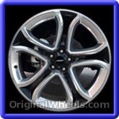 Ford Edge 2011 Wheels & Rims Hollander #3850  #Ford #Edge #Ford #Edge #2011 #Wheels #Rims #Stock #Factory #Original #OEM #OE #Steel #Alloy #Used