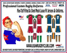 USA RUGBY CLUBS RUGBY ROSIE SAYS MADE IN THE USA RUGBY UNIFORMS ARE GOOD!