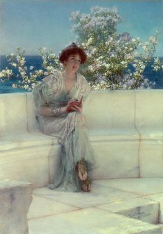 Sir Lawrence Alma-Tadema (l836 - 1912) | The Years At The Spring All Right With The World, 1902
