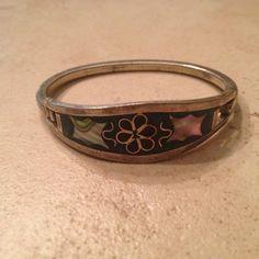 A personal favorite from my Etsy shop https://www.etsy.com/listing/227147898/vintage-alpaca-silver-bracelet-green