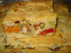 Receita de Torta deliciosa de sardinha - Tudo Gostoso