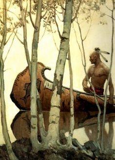 """N.C. Wyeth ~ Miks' Pics """"Artsy Fartsy lV"""" board @ http://www.pinterest.com/msmgish/artsy-fartsy-lv/"""