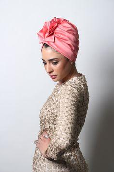 RonalHandmade Turbans, in pink. Turban Hijab, Turban Mode, Turban Hut, Hair Turban, Turban Style, Turban Headbands, Knitted Headband, Turbans, Modern Hijab Fashion