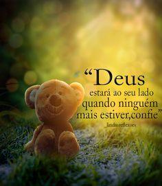 #frases#Deus#motivação#acreditar#fé#confiar#motivação#mensagens#crer#boanoite#sonhos#otimismo Statement Wall, My King, Quotations, Faith, Sayings, Quotes, Blog, Salvador, Uplifting Messages
