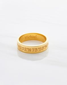 coordinates jewelry for men • coordinate rings for men • coordinate ring for men • engraved jewelry • engraved rings • latitude and longitude jewelry • gps coordinates jewelry • Father's day gift ideas 2017 • gift ideas for husband • gifts for new dads • gifts for father's day • ideas for father's day • first time dad gifts • best gifts for dad • cool fathers day gifts • first father's day gifts • gifts for first time dads