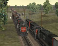 free online train simulation games to play