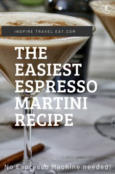 How to make an easy espresso martini? It's so simple to make an espresso martini without an espresso maker! How to make an easy espresso martini? It's so simple to make an espresso martini without an espresso maker! Expresso Martini Recipe, Coffee Martini Recipe, Martini Recipes, Drinks Alcohol Recipes, Cocktail Recipes, Martini Bar, Martinis, Espresso Vodka, Coffee And Espresso Maker