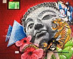 Buddha Kunst, Buddha Art, Concept, Painting, Street, Buddha Artwork, Painting Art, Paintings, Painted Canvas