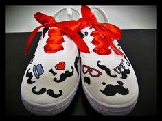 Sneakers | S024 Moustache Orders | omeupandan.info@gmail.com