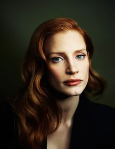 Jessica Chastain photographed by Joey L.