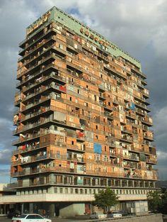 Housing in Luanda, Angola.