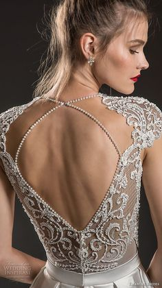 Emanuel brides 2018 bridal cap sleeves deep v neck heavily embellished bodice sexy romantic soft a line wedding dress keyhole back sweep train 12 zbv emanuel brides 2018 wedding dresses rosa clar s 2018 evening dress collection it s your big day too Wedding Dresses 2018, Bridal Dresses, Wedding Outfits, Dress Wedding, Prom Dresses, Corsage, Glamour, Beautiful Gowns, Dream Dress
