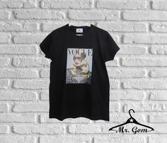 #tshirt vogue. Camisetas exclusivas, sólo en Mr.Gom. ¡Reserva la tuya!