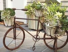 Eclectic Outdoor Decor