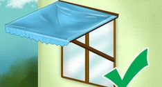 How to Drape Window Scarves. A window scarf, smartly hung, can highlight an entire room. Use a window scarf to cover up a curtain rod, or install scarf hooks to hang a window. Awning Over Door, Window Awnings, Window Drapes, Diy Curtains, Window Coverings, Window Treatments, Wooden Windows, Arched Windows, Custom Windows