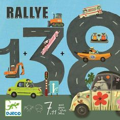 DJECO Rallye rekenspel 6-10 jr