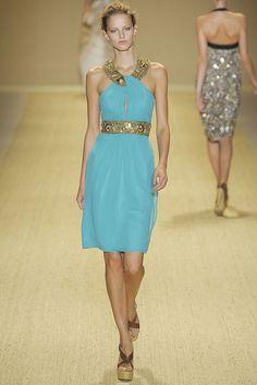 Monique Lhuillier Spring 2009 Ready-to-Wear Fashion Show - Michaela Kocianova