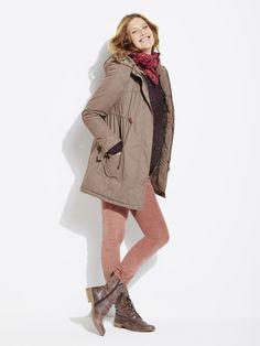 #Parka évolutive 3 en 1 de #grossesse, Future #Maman - Collection Colline automne hiver 2014 - www.vertbaudet.fr