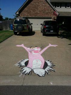 Chalk work