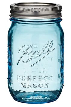 """Thousands of people across America are eagerly awaiting a case of the blue Balls. Jarden Home Brands -- which licenses one of the oldest brands in America, Ball Home Canning -- has released a limited-edition """"Heritage Collection"""" line to mark the centennial of the innovation commonly known as the mason jar."""