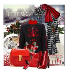 A fashion look from November 2015 by eula-eldridge-tolliver featuring Point Sur, Chanel, Gucci, County Of Milan, Forte Forte и Plush Cashmere