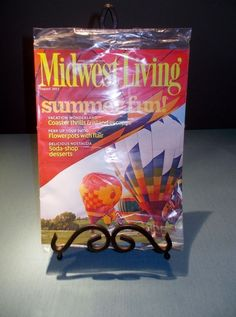Midwest Living August 2014 Magazine - Summer Fun - Back Issue - In Plastic