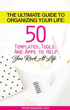 The Ultimate Guide to Help Organize Your Life- Amanda Abella - Finance tips, saving money, budgeting planner Savings Planner, Budget Planner, Life Planner, Make Money Writing, How To Make Money, Saving Tips, Saving Money, Saving Ideas, All About Me Book