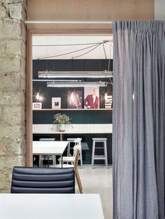 Cafe Shop, Architecture, Oversized Mirror, Curtains, Flooring, Interior Design, Gallery, Pictures, Inspiration