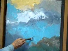 ▶ ABSTRACT ACRYLIC With PALETTE KNIFE By MILLIE GIFT SMITH 0001 - YouTube