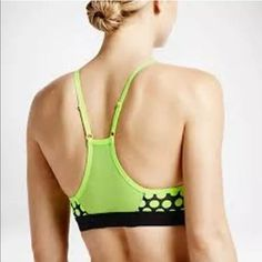 Women's medium Nike sports bra Great condition, pads included. Too small for me now! Nike Intimates & Sleepwear Bras