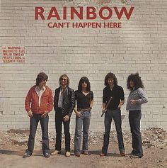 "For Sale -Rainbow Can't Happen Here - P/S EX UK  7"" vinyl single (7 inch record)- See this and 250,000 other rare and vintage records & CDs at http://eil.com/"