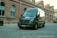 Mercedes Fans - Artikel - Mehr als ein Facelift: 2013 Mercedes-Benz Sprinter 313 CDI Kastenwagen Fahrbericht