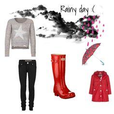 Fifi's rainy day clothes