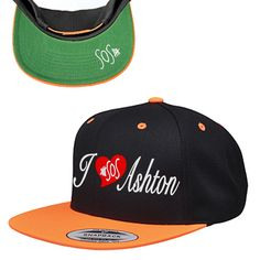 5 Seconds of Summer I Love Ashton Irwin Snapback Hat | I need this in my life! ASAP