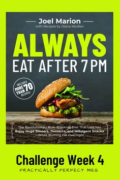 Always Eat After 7 PM. #intermittentfasting #weightloss #diet #lifestyle #fitnessinspo #joelmarion #alwayseatafter7PM Health And Wellness, Health Tips, Health Fitness, Wellness Tips, Diet Books, Low Fat Diets, Challenge Week, Eat Fruit, Foods To Eat