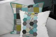 Love the color scheme and design. (I spy some of my favorite fabric line!)