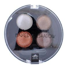 LA Colors 4 Brilliant colors Baked Shadow Palette Galaxy 421 ** Click image for more details. This Amazon pins is an affiliate link to Amazon.