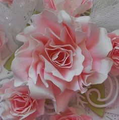 Selma's Stamping Corner and Floral Designs: Two Tone Rose Tutorial