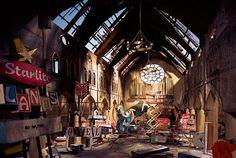廃墟をモチーフにしたジオラマアートがかなりリアルで幻想的(ギャラリー) | roomie(ルーミー)