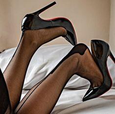 Pink High Heels, Black High Heels, High Heels Stilettos, Stiletto Heels, Nylons And Pantyhose, Nylons Heels, Stockings Heels, Sexy Legs And Heels, Tights
