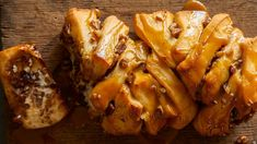 Get Sticky Pecan Pull-Apart Bread Recipe from Food Network