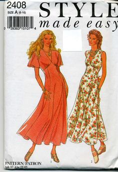 MidCalf Length Dresses With Flared Skirts by MyChickadeesNest, $5.50