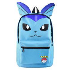 nice Anime Pokemon Pocket Monster School Backpack Bag  -