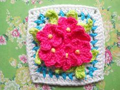 Busy Lizzie Block. Pattern here http://www.ravelry.com/patterns/library/busy-lizzie-block