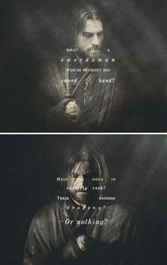 Latest Game of Thrones Question Game Of Thrones 5, Game Of Thrones Quotes, Got Lannister, Cersei And Jaime, Love Book Quotes, Nikolaj Coster Waldau, Valar Dohaeris, The North Remembers, King In The North