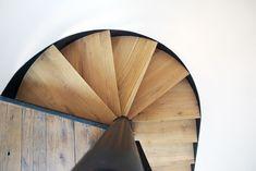 bosc architectes Saint remy de provence design decoration escalier acier bois