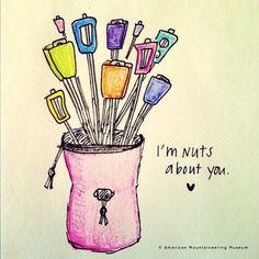 Clever :-D #chalkbag