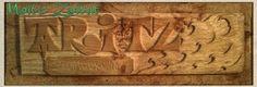 Woodcarving in Oak. Talla en Roble